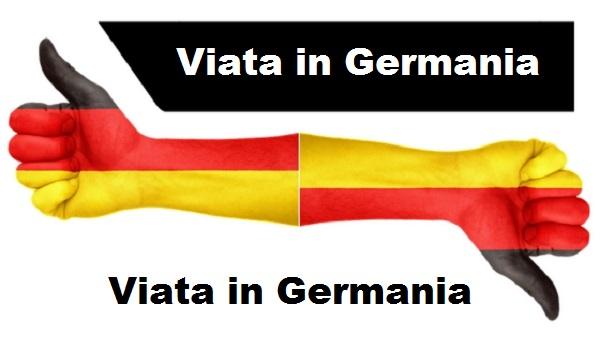 viata în Germania
